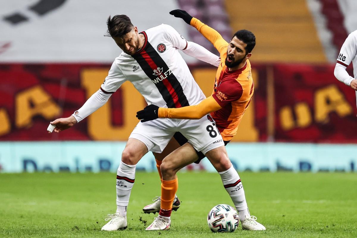 Galatasaray yine takıldı